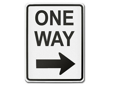 Traffic Sign USA One Way Right S5701