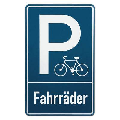 Parking Spot Sign Bicycles S3566