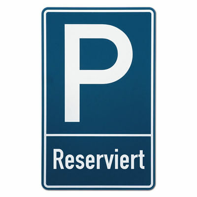 Parking Spot Sign Reserved S3513