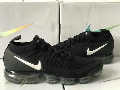 080a99ae18 Nike Air VaporMax Flyknit 2.0 Black/Dark Grey White 942842-001 Trainers UK 7