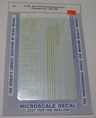 """Microscale decals 87-110-3 91103 Stripes 3/"""" 4 3//4/"""" wide gold  K99"""