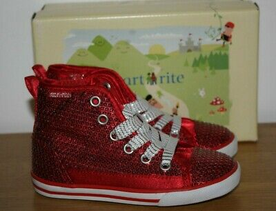 Start Rite Colorado II Girls Suede Classic Ankle Chukka Desert Boots Shoes Red