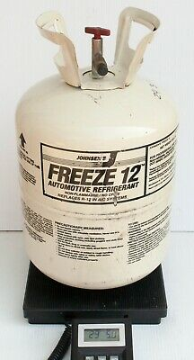Johnsen's Freeze 12 Refrigerant 23lbs 13oz in Partial 30 lb Tank R12 Replacement