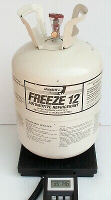 Johnsen's Freeze 12 Refrigerant FULL 30 lb Tank R12 Replacement