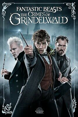 Fantastic Beasts The Crimes Of Grindelwald (Blu-ray Disc, 2018)