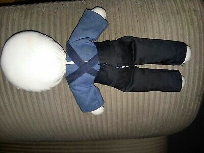 AMISH/MENNONITE - HANDMADE - Cloth Rag Doll Couple