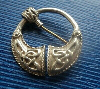 Vintage Sterling Silver Irish Tara Style Brooch c.1998 - Kit Heath KH98