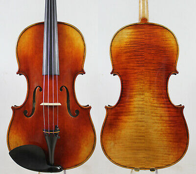 Antique Vanish! A Strad Viola 16.5 inch Copy!  #3996 Deep Warm Tone