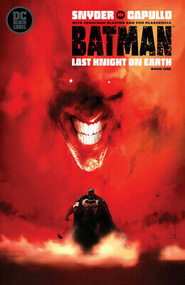 BATMAN LAST KNIGHT ON EARTH #1 JOCK Variant DC Comics Black Label 1st Print NM