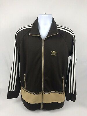 Men's Vintage Adidas Full Zip Track Jacket Size Medium