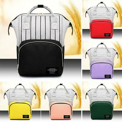 Mummy Portable Maternity Nappy Diaper Bag Baby Large Capacity Backpack Bag JF#E