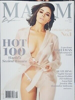 Olivia Culpo Cover's Maxim Magazine July/Aug 2019 No Mailing Labels