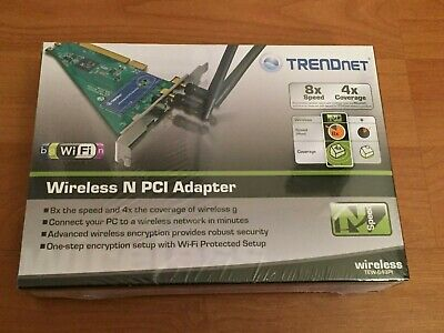 TRENDNET WIRELESS N PCI ADAPTER DRIVERS FOR WINDOWS VISTA