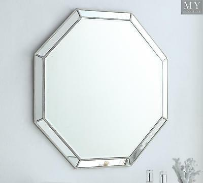 LEONORE Silver Wall Mirror - Antique Silver