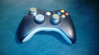 XBOX 360 Controller Grey Thumbsticks Genuine Microsoft (Tested / Working)