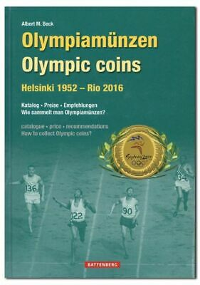 1952 - 2016 Olympic Games Coins Hardback Book