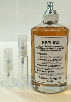 Replica - By The Fireplace - Maison Margiela  2ml/5ml atomiser sample sizes only