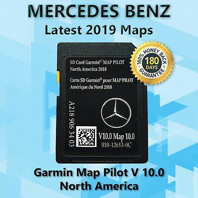 LATEST MERCEDES-BENZ SD Card GPS Navigation GLC C-Class