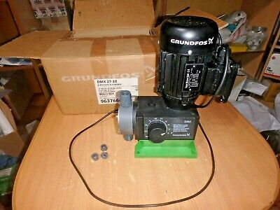 Pump GRUNDFOS 96376608 dmx-27-10 b-pvc/v/G-x-G1b1b1F 27.00L/h [SLIGHTLY USED]