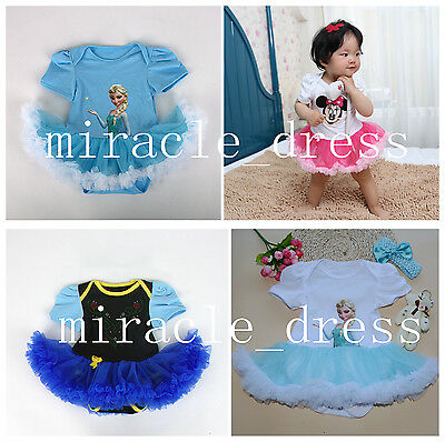 Girls Toddler Baby Princess Fancy Dress Up Costume Birthday Party Dress Outfits