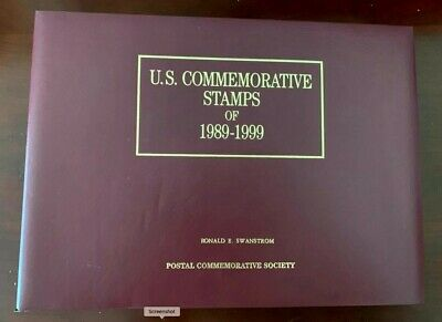 US 50 Yeats fo US Commemorative Stamps 1971-1990 54pages Face value $75