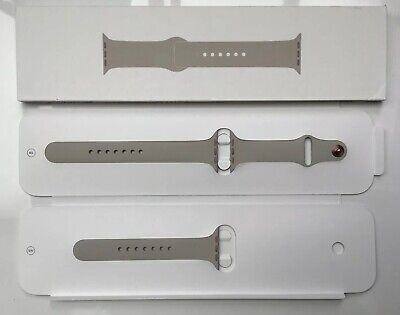 GENUINE APPLE WATCH SPORT BAND STONE Rose Gold Pin For 44mm +42mm Series 1/2/3/4