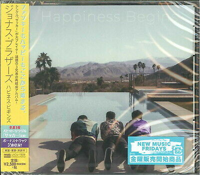 Jonas Brothers-Happiness Begins-Japan Cd F56