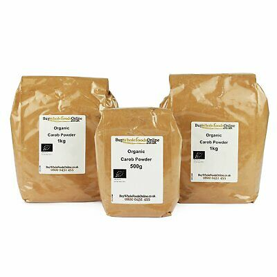 Organic Carob Powder 2.5kg | Chocolate | Buy Whole Foods Online | Free UK P&P