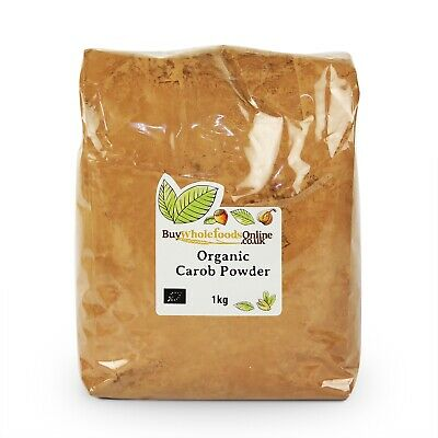 Organic Carob Powder 1kg | Chocolate | Buy Whole Foods Online | Free UK P&P
