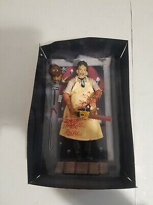 "ULTIMATE LEATHERFACE TEXAS CHAINSAW MASSACRE 7"" ACTION FIGURE 100% offical neca"