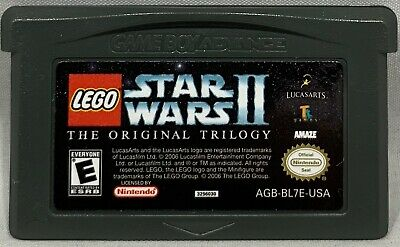 Lego Star Wars Ii The Original Trilogy Nintendo Gameboy Advance Game Gba