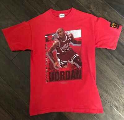 1ca3591be49 VINTAGE 3 MICHAEL Jordan T Shirt 3XL contest free throw line dunk ...