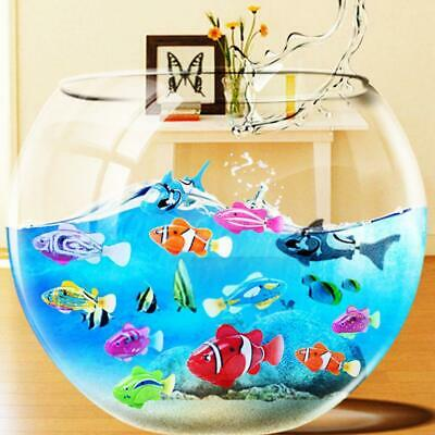 Swim Electronic Battery Powered Fish Toy Interactive Toys Robotic Pet for Kid Ba