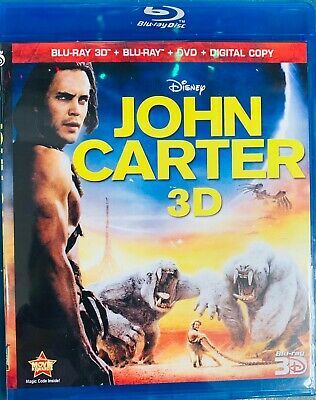 John Carter 3D Blu-ray Region Free Best Deal