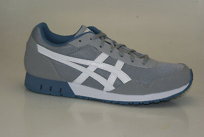 Asics Curreo Lace Up Synthetic Mens Trainers Black Blue HN537 9039 U67