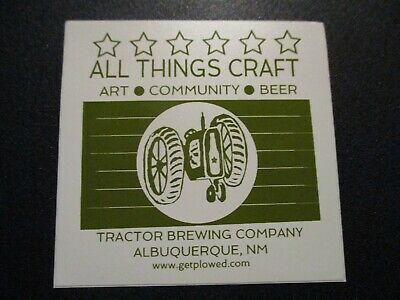 TAOS MESA BREWING New Mexico STICKER decal craft beer brewery