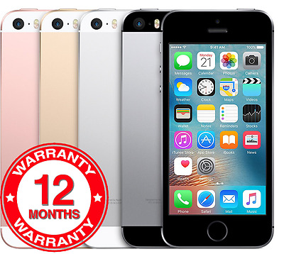 Apple iPhone SE - 16GB 64GB - Unlocked SIM Free Smartphone Various Colours Grade