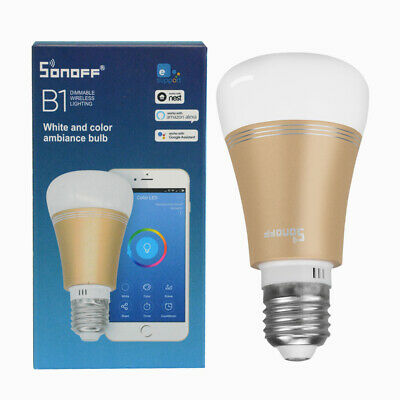 Sonoff B1 6W E27 WiFi Smart Glühbirne Multifunktionale Smart LED Lampen