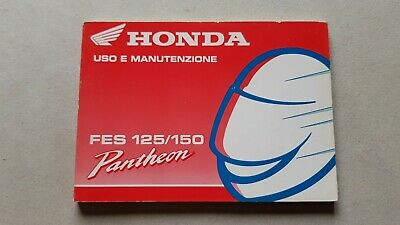 Honda SCOOTER Pantheon FES 125-150 1998 manuale uso originale TESTO ITALIANO