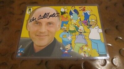 Dan Castellaneta voice of Homer from Simpsons signed autographed photo