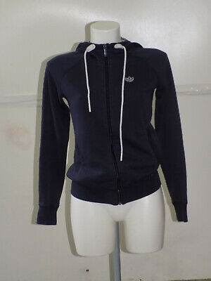 comprare popolare b1f83 25d45 ADIDAS GIACCA Jacket Track Top Felpa Con Zip Donna Woman Tg.40 Z94