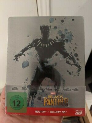 Black Panther - Limited Edition Steelbook (Blu-ray 2D/3D) BRAND NEW!!