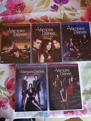 DVD The Vampire Diaries Stagioni 1-5 Complete