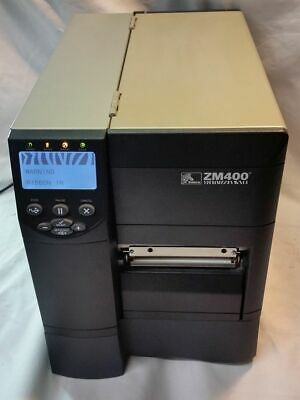 ZEBRA ZM400 THERMAL Label Printer WiFi Ethernet USB Parallel