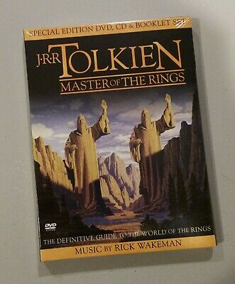 J.R.R. Tolkien: Master of the Rings (DVD, 2004) New & Sealed - Not In Stores