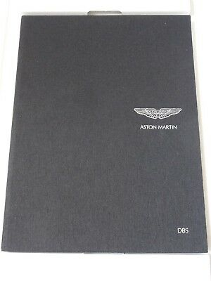 Aston Martin Dbs 2008 Brochure 703481 & Jaeger-Le Coultre Amvox2 Chronograph