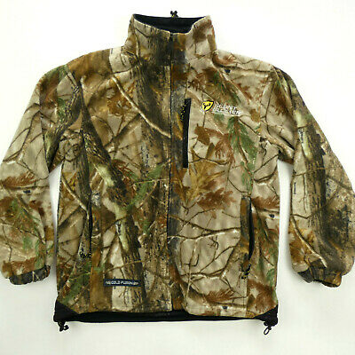 a14d87bb06e51 Scent Blocker Medium M Fleece Jacket Lined Heavyweight Cold Fusion  Camouflage