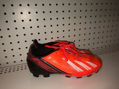 4bce201573ed NOS NEVER USED ADIDAS F5 TRX TF Boys Soccer Cleat Shoes U.S. Size 7 ...