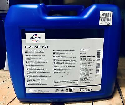 Automatic Transmission Fluid Fuchs Titan Atf 4400 20Ltr. Canister