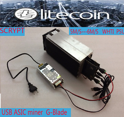 Lite Coin Miner Mining LTC Crypto Currency Blade Scrypt ASIC Miner Gridseed Blad